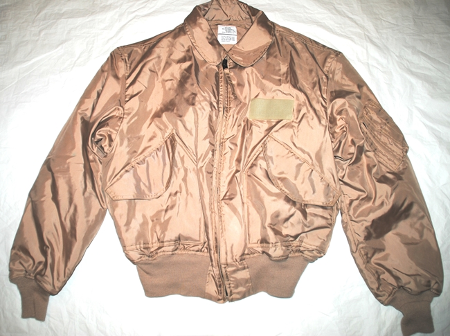 a36a99c1552 USAF TAN NOMEX FIRE RESISTANT COLD WEATHER FLYERS JACKET CWU-45 P - X-LARGE