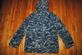 US NAVY NWU GORE TEX DIGITAL CAMOUFLAGE PARKA - SMALL X-LONG