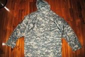 US MILITARY GEN II ECWCS ACU GORE-TEX COLD WEATHER UNIVERSALL CAMO PARKA - MEDIUM LONG