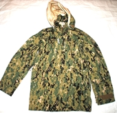 US NAVY ECWCS AOR2 NWU TYPE III COLD WEATHER GORE TEX PARKA - X-SMALL LONG