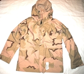 ORIGINAL US ARMY ECWCS GORE TEX DESERT CAMOUFLAGE PARKA - MEDIUM LONG