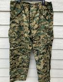 Usmc Gen II Apecs Gore Tex Digital Marpat Cold Weather Pants - Large Regular.