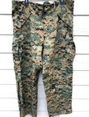 Usmc Gen II Apecs Gore Tex Digital Marpat Cold Weather Pants - Large Long.