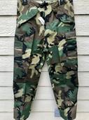 New Genuine USMC Gen II Cold/Wet Weather Woodland Camouflage Pants - Small Regular.